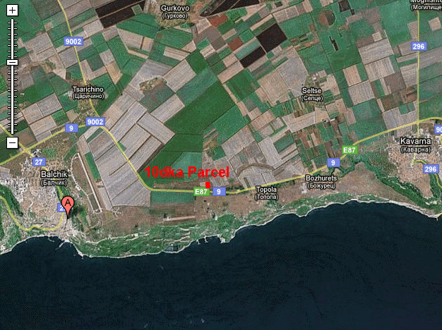 Investment land at Topola at Black Sea Rama Golf